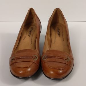 Softspot Memory Foam Brown Loafers Like New
